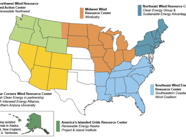Energy Department Announces New Regional Approach to Wind Energy Information