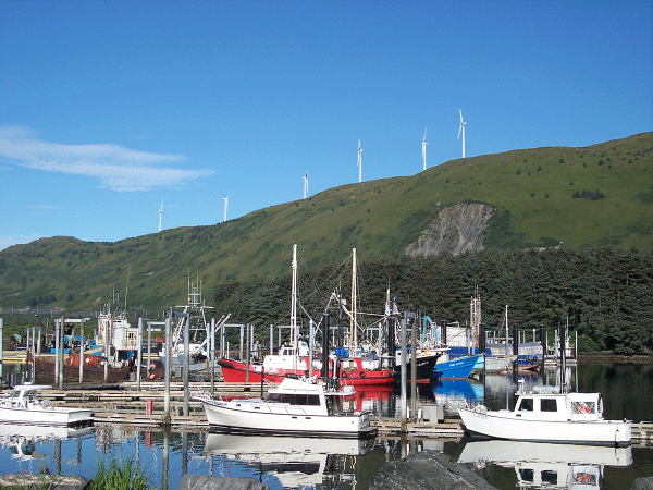 Kodiak Alaska 9 MW Wind Farm